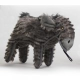 SteelDog Ruffian Donkey Dog Toy Premium Tough Plush