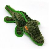 SteelDog Ruffian Gator Dog Toy Premium Tough Plush