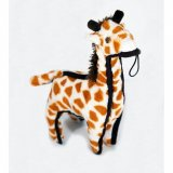 SteelDog Ruffian Giraffe Dog Toy Premium Tough Plush