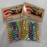 Spot Colorful Springs - Thin Cat Toy 2 Packs of 10 for a total of 20 Pieces