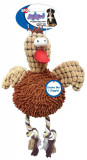 Ethical Dog Gigglers Plush Dog Toy  Chicken
