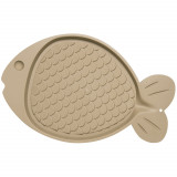 Bella Spill-Proof Fish-Shaped Mat for Cats
