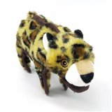 SteelDog Ruffian Leopard Dog Toy Premium Tough Plush