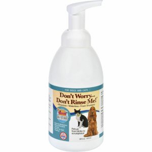 Ark Naturals Don't Worry Don't Rinse Me! Natural Dog & Cat Waterless, Rinseless Shampoo