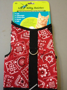 Kitty Holster - Red Bandanna