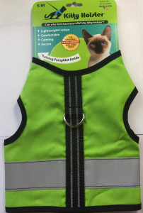 Kitty Holster - Reflective Loud Lime