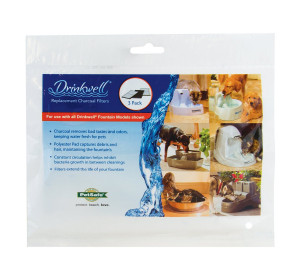 Petsafe / Drinkwell Brand 2-Chamber Replacement Filters - 3 Filters per Pack
