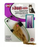 Spot A-DOOR-able Bouncing Fur Mouse or Bird Catnip Toy