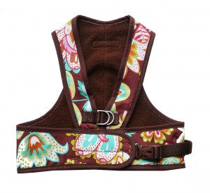 Step Easy Harness - From the Inventor of Cloak & Dawggie - Patterned Fabric